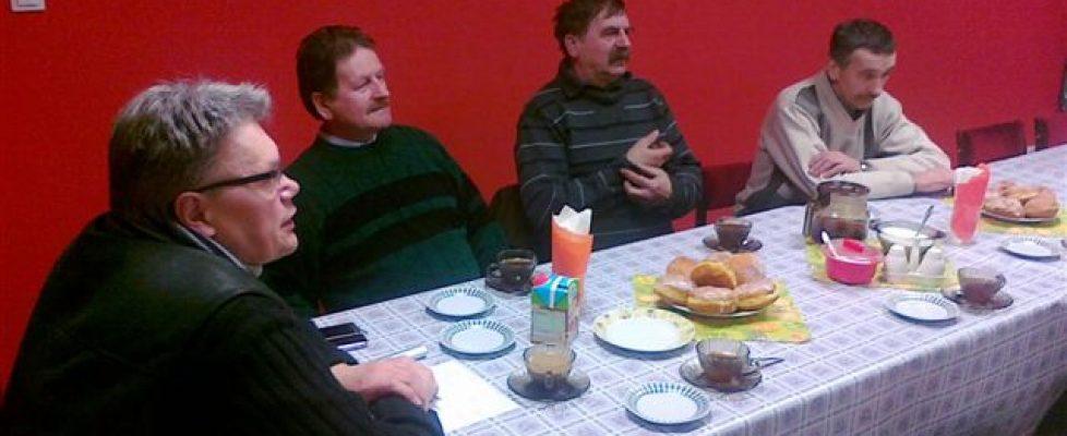 Spotkanie sołtysów zks. proboszczem
