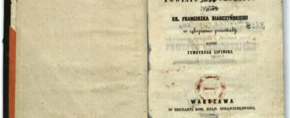 Wsie naszej parafii w1847r.
