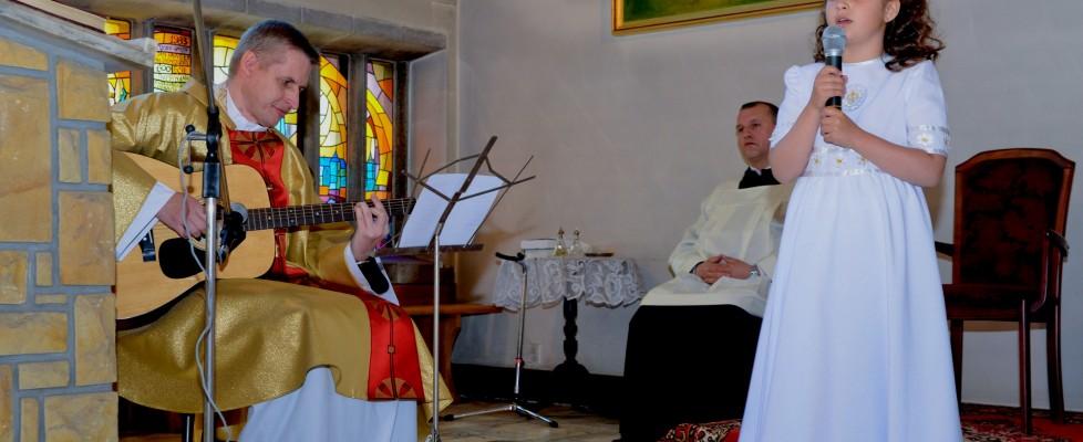 Piosenka śpiewana podczas IKomunii Świętej