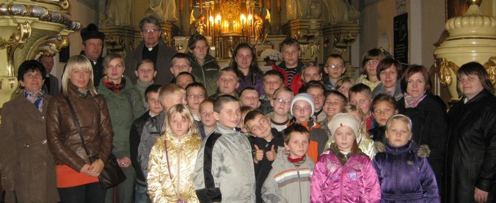 Wrodzinnej parafii ks.Stachury