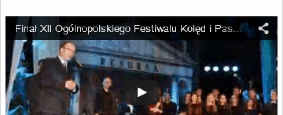 Pokaz zdjęć zkoncertu Ogólnopolskiego Kolęd iPastorałek