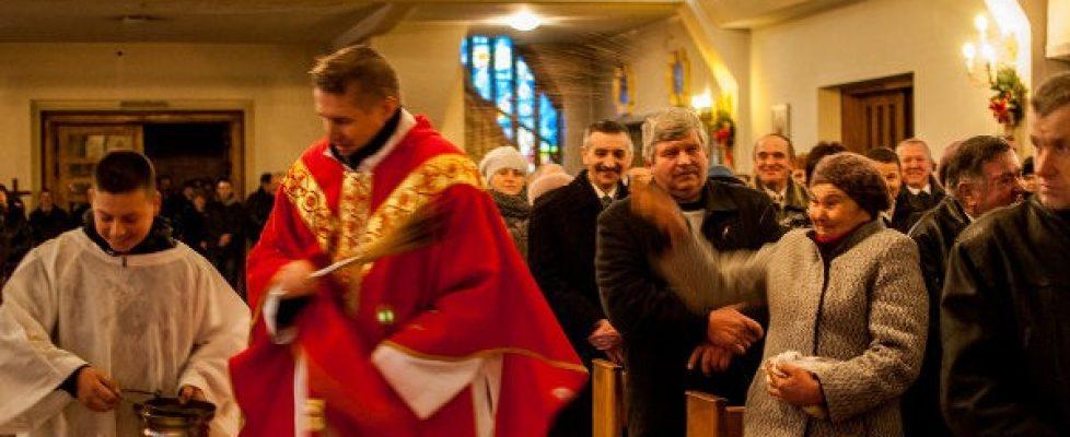 Święty szczepan w kosciele w parafia Mirów