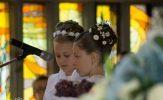 Chrystus szczególną miłością darzył dzieci: pierwsza komunia święta wnaszej parafii